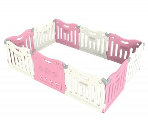 Baby Care Pink Colored Baby Play Pen