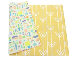 Baby Care Yellow Color Cushioned Baby Play Mat