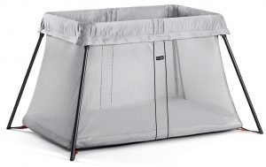 Babyjorn Travel Crib Light - Silver