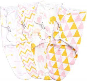 Baebae Pink Gold Triangles