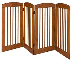 Barkwood Pets Free Standing Wood Gate