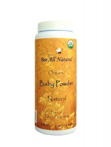 Bee All Natural Organic Baby Powder