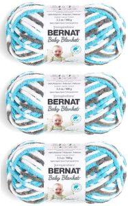 Bernat Baby Blanker Yarn, Sail Away