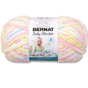 Bernat Baby Blanket Big Ball Yarn, Pitter Patter