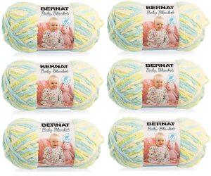 Bernat Baby Blanket Yarn, Little Dinosaurs
