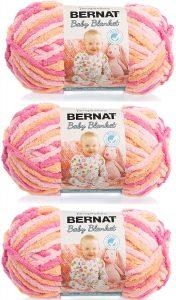 Bernat Baby Blanket Yarn, Peachy