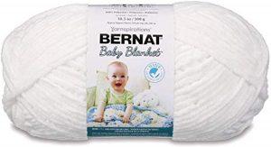 Bernat Baby Blanket Yarn, White