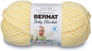 Bernat Baby Blanket Yarn, Yellow