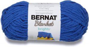Bernat Blanket Brights, Chunky Blue