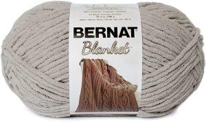 Bernat Blanket Yarn, Pale Grey