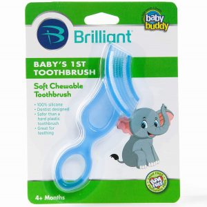 Brilliant Baby's Toothbrush Teether