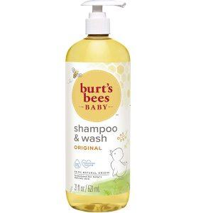 Burt's 21 Ounce Shampoo And Baby Wash