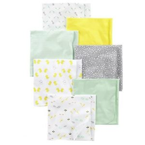 Carter's Simple Joys Flannel Receiving Blankets