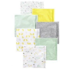 Carter's Simple Joys Flannel Receiving Blankets