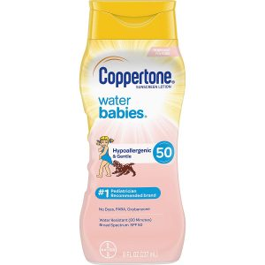 Coppertone WaterBabies Sunscreen Lotion