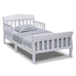 Delta White Canton Toddler Bed