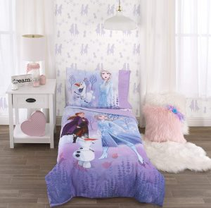 Disney Frozen Lavender Purple Toddler Bed