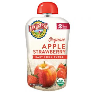 Earth's Best Apple And Strawberry