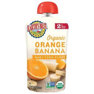 Earth's Best Banana and Orange