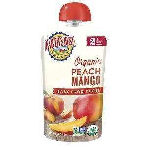 Earth's Best Mango And Peach