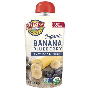 Earth's Best Organic, Banana Blueberry