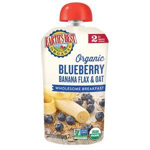 Earth's Best Organic, Banana Blueberry