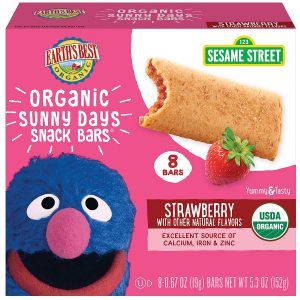 Earth's Best Organic Sesame Street