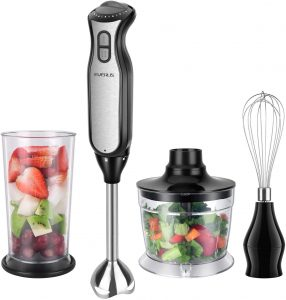 Everus BPA Free Immersion Hand Blender