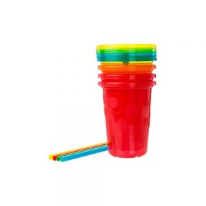 First Year Toss Spill-Proof Straw Cups