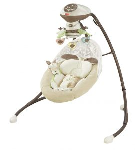 Fischer-Price Snugabunny Cradle Swing