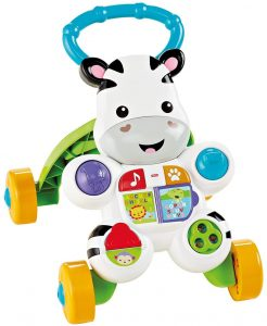 Fisher-Price First Steps Talking Zebra