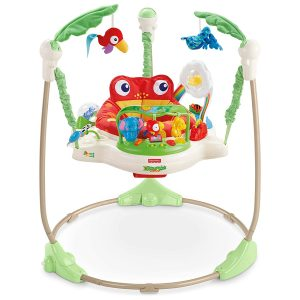 Fisher Rainforest Jumperoo Best Baby Activity Center