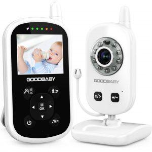 GOODBAY Video Baby Monitor Best Long Range Baby Monitors