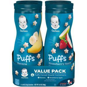 Gerber Puffs Cereal Snack
