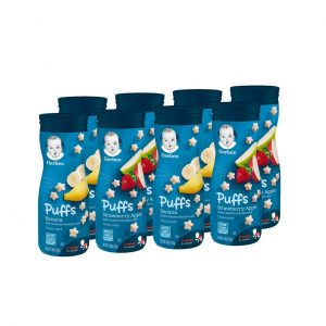 Gerber Puffs Cereal Snack Best Baby Food To Start With