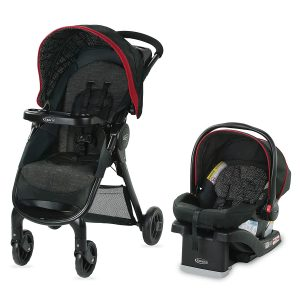 Graco FastAction SE Baby Travel System
