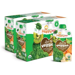 Happy Tots Love Veggies Spinach