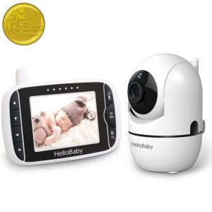 HelloBaby Baby Monitor With Remote Camera