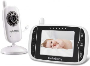 HelloBaby HB32 Video Baby Monitor