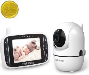 HelloBaby HB65 Video Baby Monitor