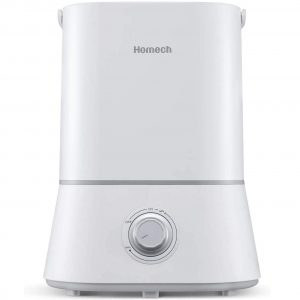 Homech Quiet Ultrasonic Humidifier