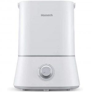 Homech Quiet Ultrasonic Humidifier
