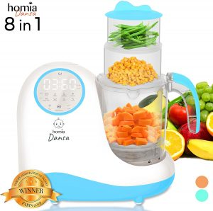 Homia 110V 8 in 1 Food Processor