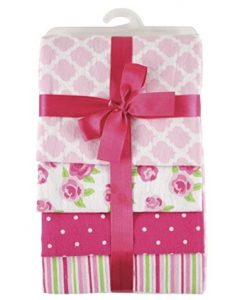 Hudson Baby Flannel Receiving Blankets