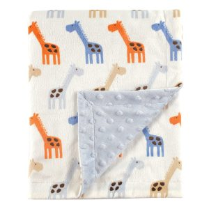 Hudson Baby Plush Mink Blanket