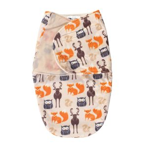 Hudson Unisex Plush Swaddle Wrap