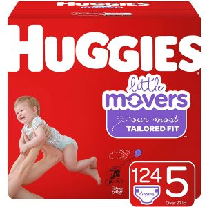 Huggie 5 Little Movers