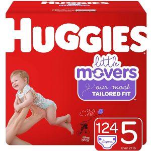 Huggie 5 Little Movers