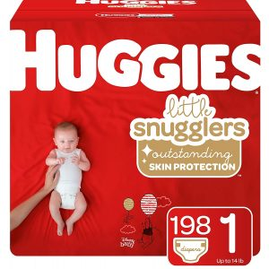 Huggies 198 Coun Snugglers