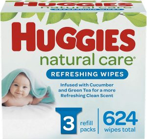 Huggies Natural Care Refreshing Baby Wipes